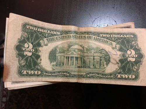 very old  foreign note