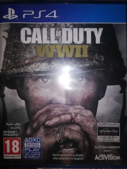 call of duty wwII and black ops 4