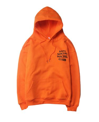 Men's anti social club hoodie