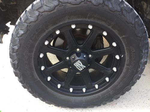 BF Goodrich Tyres+wheels for sale