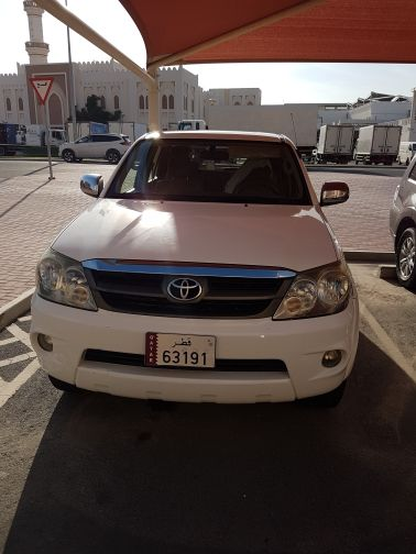 fortuner 2007 ,115Km for 40k