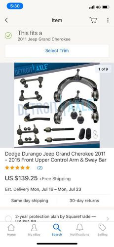 Need arm for Jeep 2011
