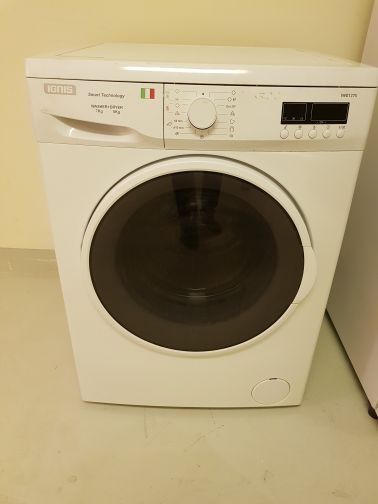 washing machine + dryer Italian brand