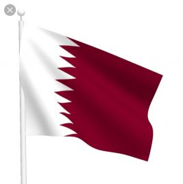 Qatari Flag for the National Day