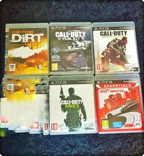 PS3 CD'S GAMEs