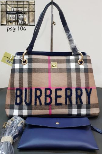 Burberry Shoulder Bag With Pouch