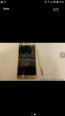Note 5 good condition original from Qata
