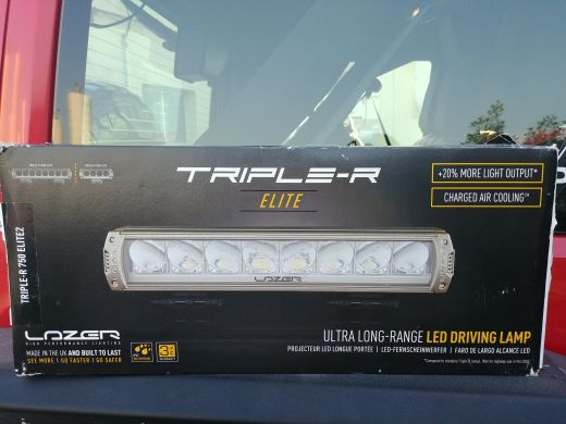 "10"" LED Bar Lazer brand"