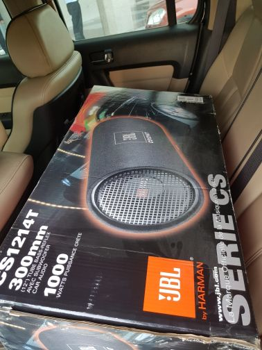 bass tube jbl1000 subwoofer