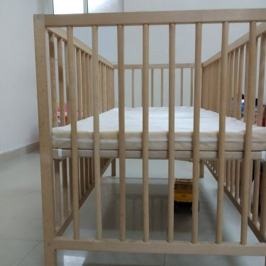 BABY BED COAT WITH MATTRESS-IKEA