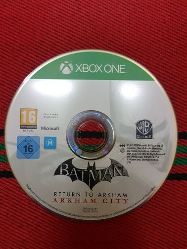 Batman game for xbox one.