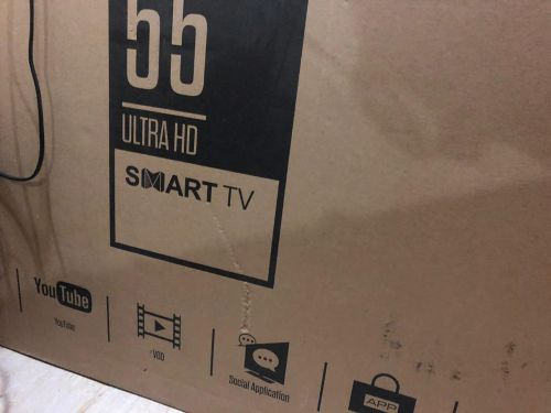 "2 TCL smart TV 32"" & 55"""