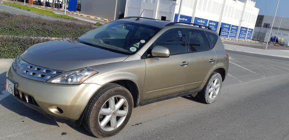 nissan murano 2006 3rd owner