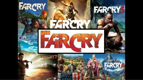 Far cry 3 and 4 and 5