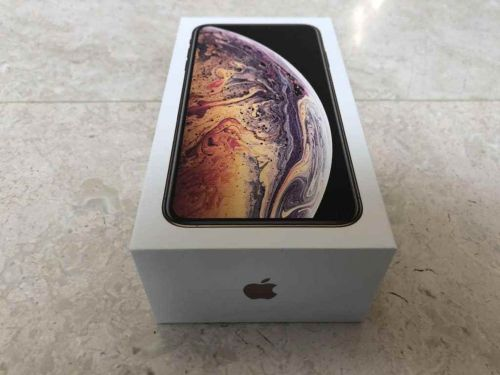 iPhone XS Gold 256GB (as new)
