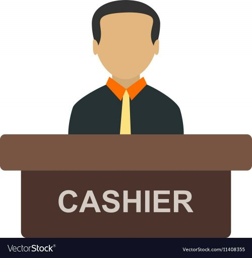 I need a Cashier or Receptionist job