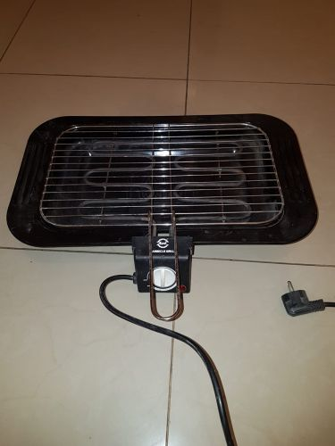 Electrical barbecue grill