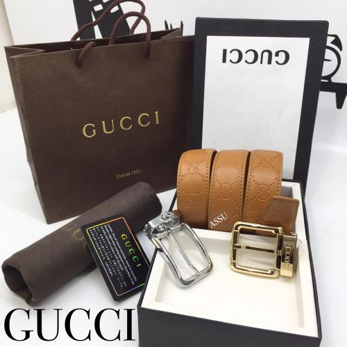 Gucci Double Buckle Belt