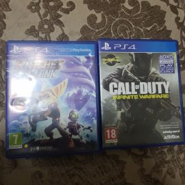 call of duty infinite warfare and ratche