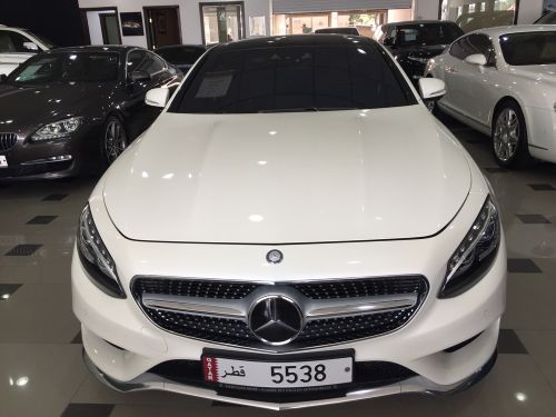 Mercedes S500 coup