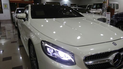Mercedes Benz S500 Coupe مرسيدس اس 500