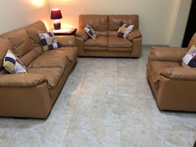 Sofa ( 2 +1) seater leather home cent