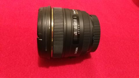 Sigma DG 50mm F/1.4 HSM EX ASP for Canon