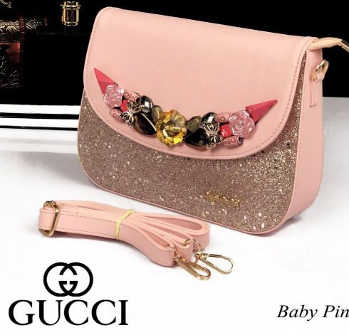 Gucci Shimmering Slingbags