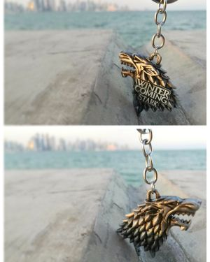 Game of thrones keychain house stark
