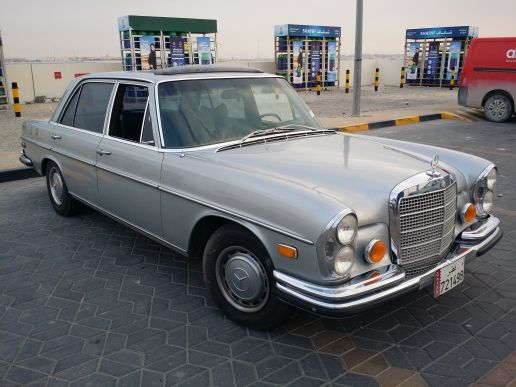 1972 280sel V8 4.5L Full Options