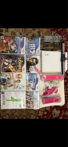 Perfect Wii with 15 games & extra