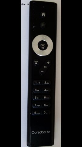 Oreedo TV remote control