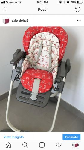 Baby chair 250 QR chicco