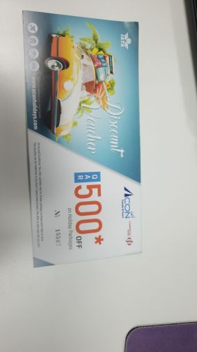 voucher for air ticket