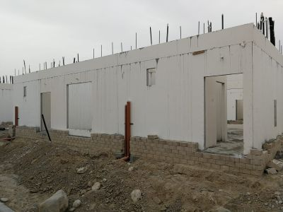 Install Prefab Houses / extension