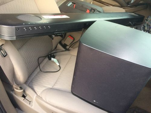LG Sound System with bass