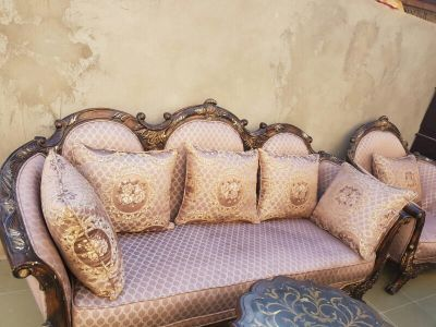 sofa with 2 tabel  1×1×3