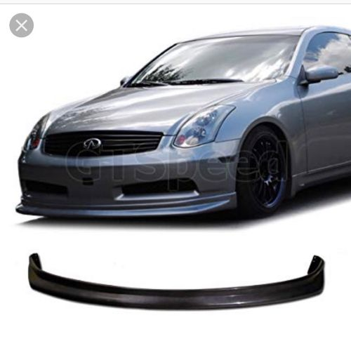 G35 front lip coupe