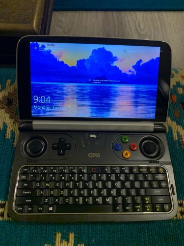 GPD win 2 small hand held gaming