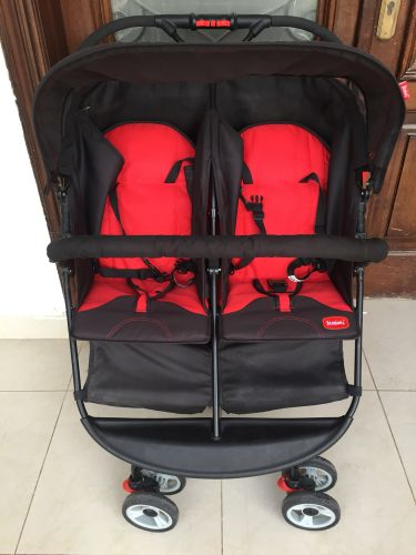 Double stroller for sale JUNIORS