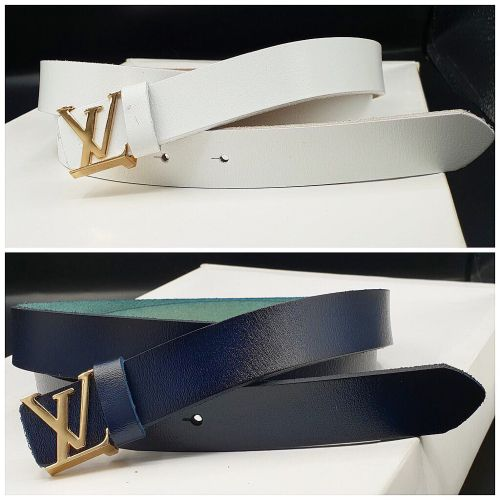 Louis Vuitton Pure Leather Belts