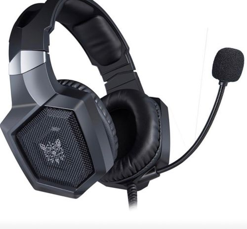 Gaming headset with light