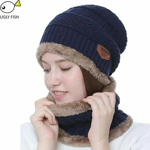 Super quality Winter Hat with NeckWarmer