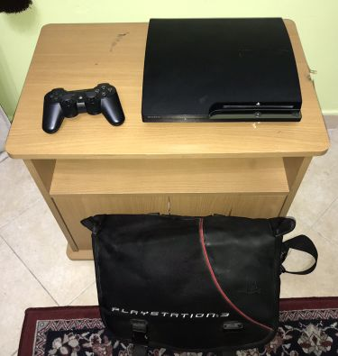 PS3 with Controller and Bag