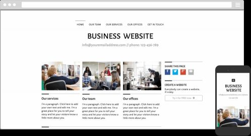 Website for Personal, Business..