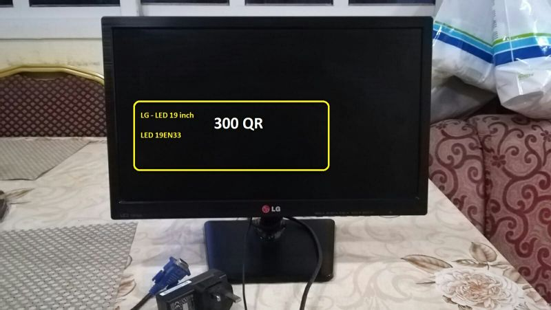 LG LED Monitor with high resolution
