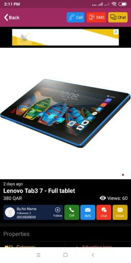 Lenovo Tab3 7 - Full tablet