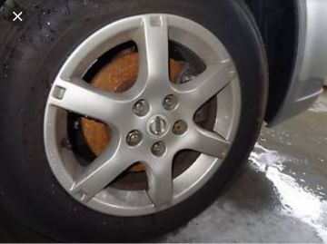 Alloy Rims and Tires Altima