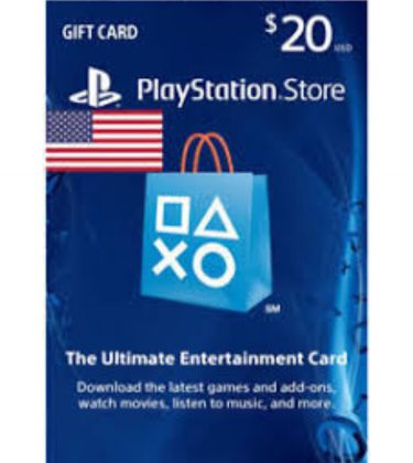 20$ playstation store card