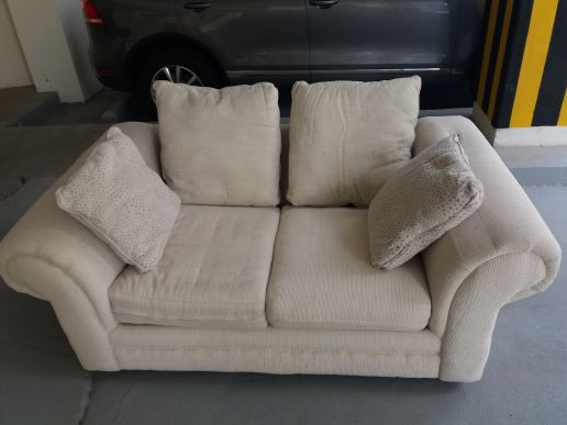 USA designer Sofa white foam cushions